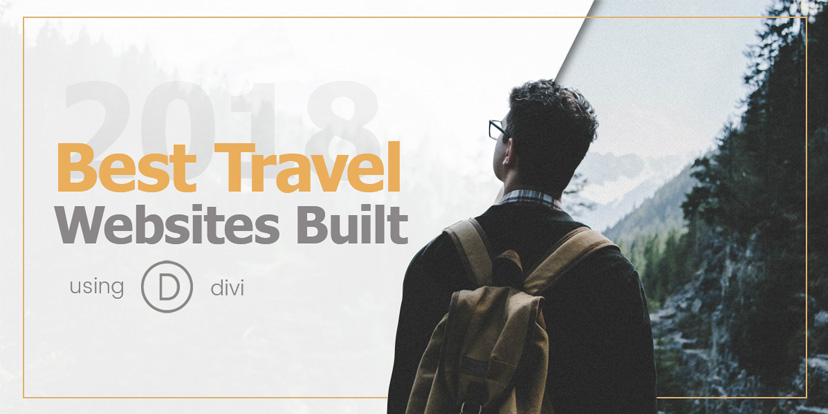 2018 Best Travel Websites Built Using DIVI