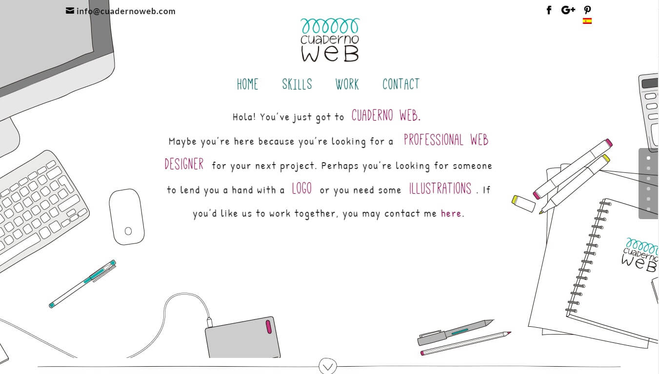 Cuaderno Web Featured by Go Crayons