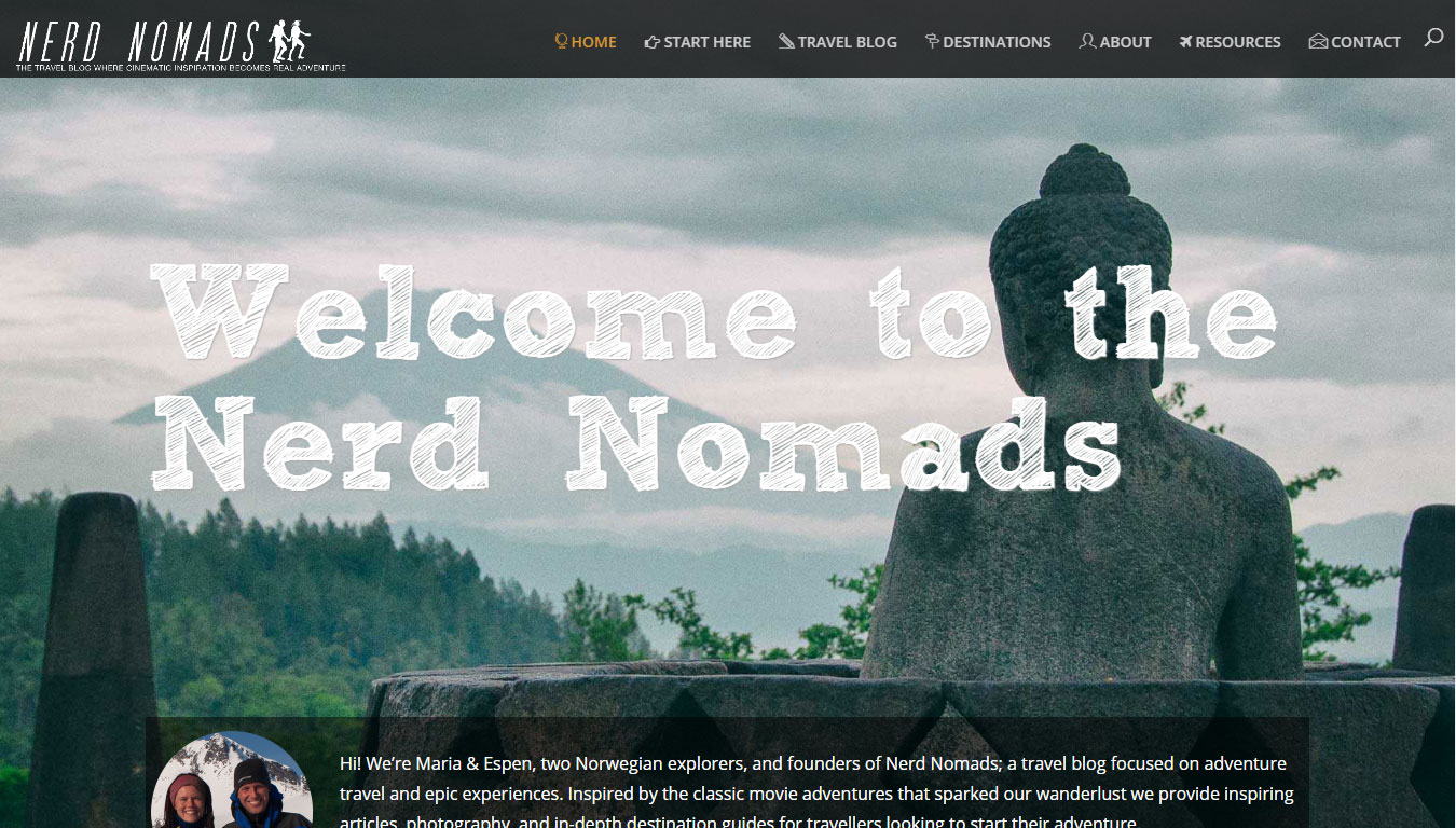 Nerdnomads featured by Go Crayons