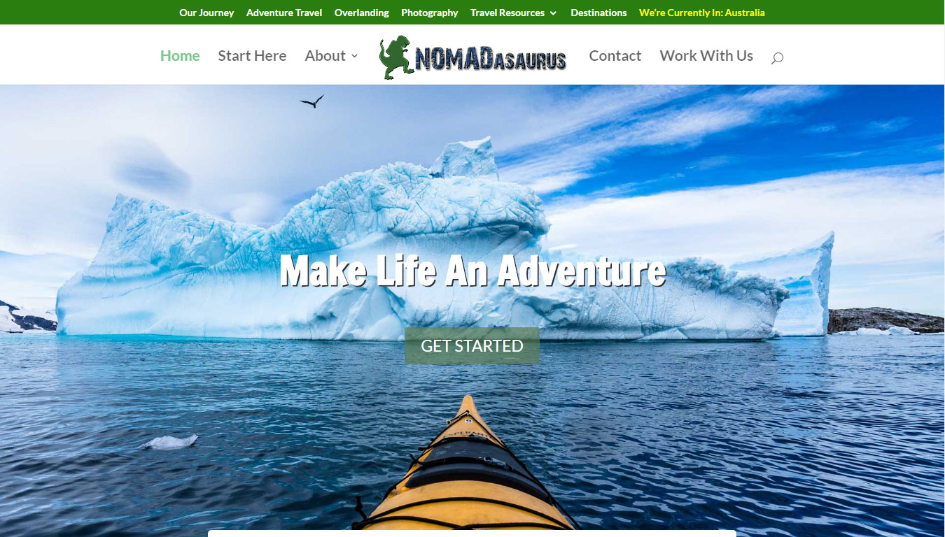 Nomadsaurus featured by Go Crayons