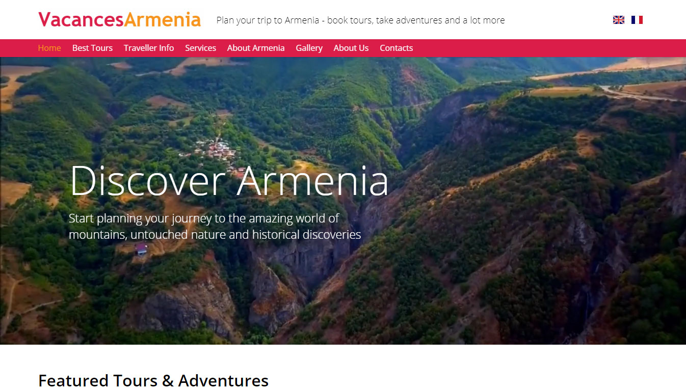 Vacancesarmenia featured by Go Crayons