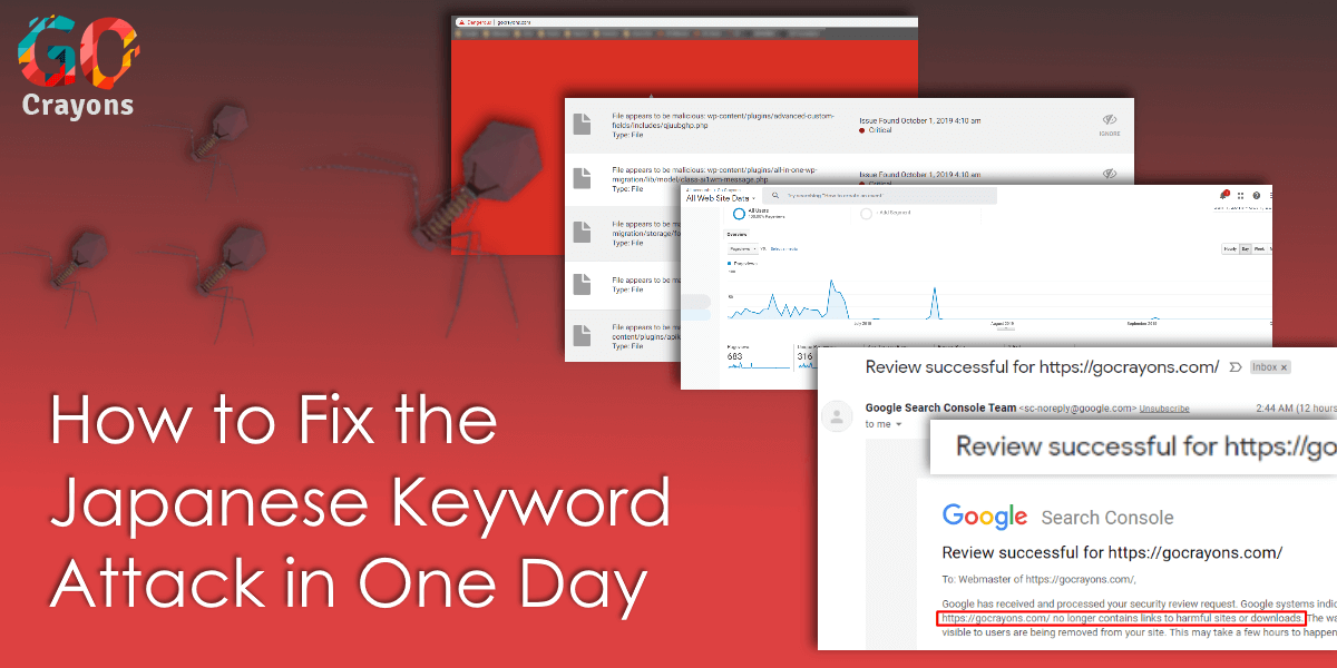 Japanese Keyword Attack GoCrayons blog